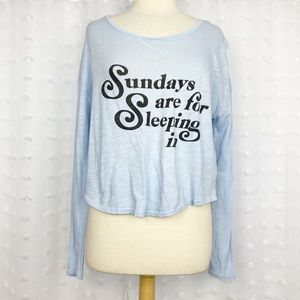 Free Press Sundays are for Sleeping In tee S
